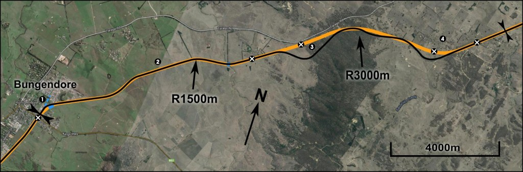 Bungendore to Mt Fairy plan - click to enlarge