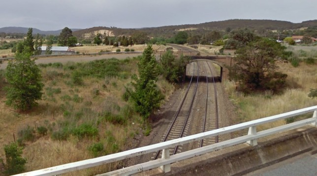 Looking east from the Sydney Road overpass. Image: Google Maps