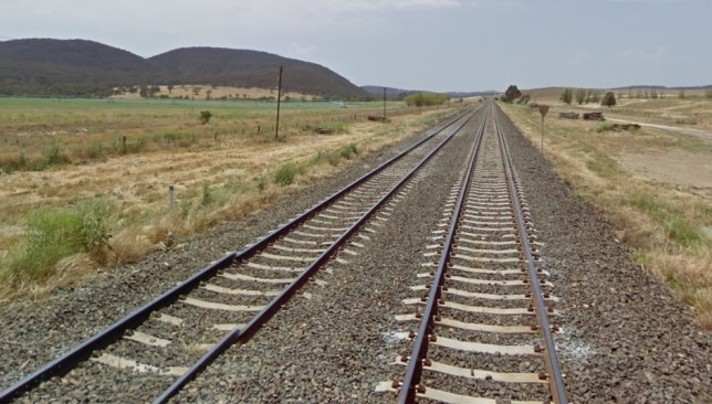 Looking east towards Murray Flat at the Gorman Rd level crossing. Image: Google Maps