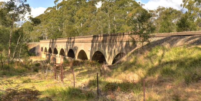 Bakers Creek Bridge, looking vaguely northbound. Image: Hot Rails