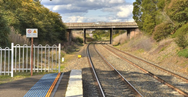 Northbound view from Marulan Station. Image: Hot Rails