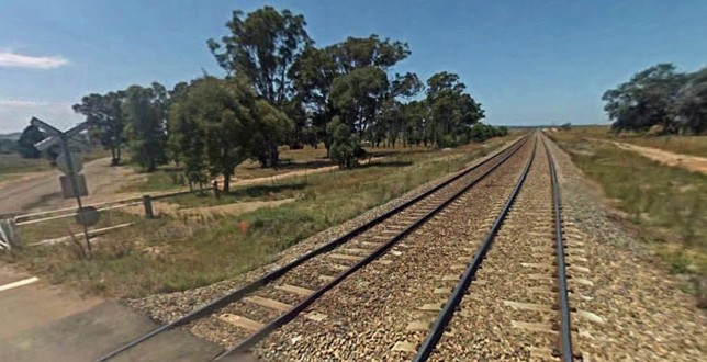 View east from Carrick Rd level crossing. Image: Google Maps