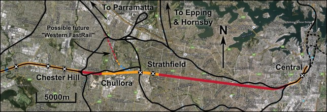 Sydney Metro access plan - click to enlarge.