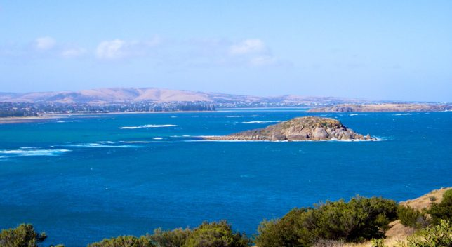 Victor Harbor and Encounter Bay viewed from Rosetta Head. Image: Hot Rails